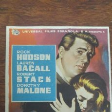 Cine: ESCRITO SOBRE DOUGLAS SIRK ROCK HUDSON LAUREN BACALL ROBERT STACK DOROTHY MALONE. Lote 197345261