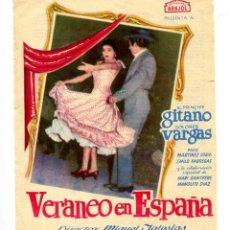 Cine: VERANEO EN ESPAÑA, CON PACO MARTÍNEZ SORIA.. Lote 197444128