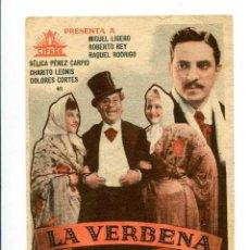 Cine: LA VERBENA DE LA PALOMA, CON MIGUEL LIGERO.. Lote 197445818