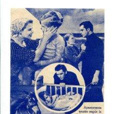 Cine: EL VIAJE A TILSIT, DE VEIT KARLAN.. Lote 197447190