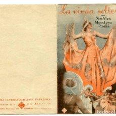 Cine: LA VIUDA SOLTERA, CON MONA GOYA.. Lote 197452702