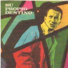 Cine: PROGRAMA DE CINE - SU PROPIO DESTINO - ENRIQUE DIOSDADO - CINE ECHEGARAY (MÁLAGA) - 1959.. Lote 197576421