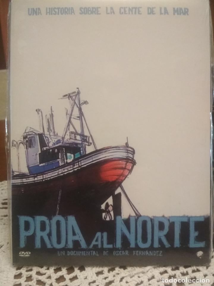 PROA AL NORTE UNA HISTORIA SOBRE LA GENTE DE LA MAR DOCUMENTAL 2005 PRECINTADO PEPETO (Cine - Folletos de Mano - Documentales)