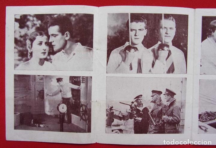 Cine: PROGRAMA CUADRUPLE. EL SECRETO DEL SUBMARINO. AÑOS 30. - Foto 6 - 197802695