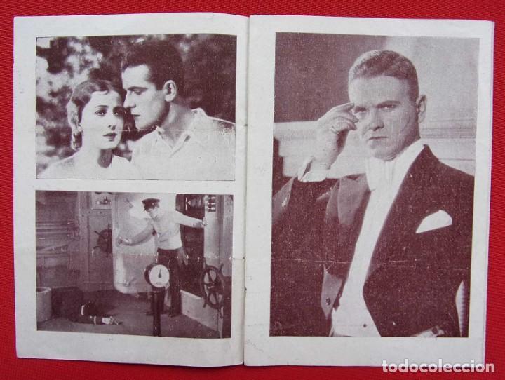 Cine: PROGRAMA CUADRUPLE. EL SECRETO DEL SUBMARINO. AÑOS 30. - Foto 8 - 197802695