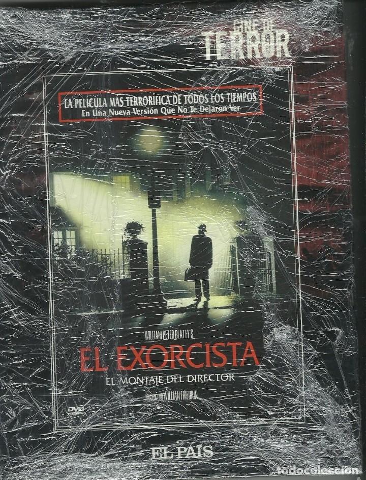 EL EXORCISTA LIBRO + DVD (Cine - Folletos de Mano - Terror)