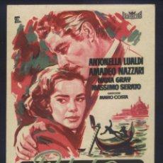 Cine: P-8645- PIEDAD PARA EL CAÍDO (PIETÀ PER CHI CADE) AMEDEO NAZZARI - ANTONELLA LUALDI. Lote 198499753