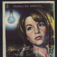 Cine: P-8647- LA CHATTE AFILA SUS GARRAS (LA CHATTE SORT SES GRIFFES) (SOLIGÓ) FRANÇOISE ARNOUL. Lote 198501070