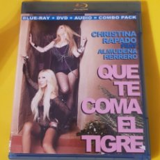 Cine: CHRISTINA RAPADO Y ALMUDENA HERRERO / QUE TE COMA EL TIGRE. Lote 198585187