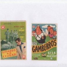 Cine: SITIADOS EN LA CIUDAD-GILA, LOS GAMBERROS-GILA. Lote 198595140