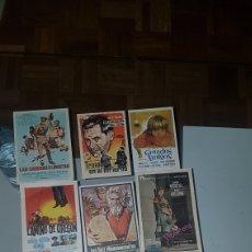 Cine: LOTE DE 13 FOLLETOS DE MANO. Lote 198615658