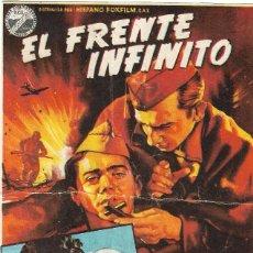 Folhetos de mão de filmes antigos de cinema: PROGRAMA DE CINE - EL FRENTE INFINITO - ADOLFO MARSILLACH - PALACIO ERISANA (LUCENA, CÓRDOBA) - 1959. Lote 198635690