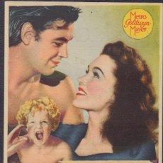 Cine: PROGRAMA SENCILLO DE EL TESORO DE TARZÁN (1941) - CINE RECAREDO DE SEVILLA. Lote 198732961