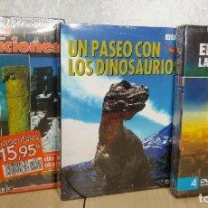 Cine: LOTE DE 8 DVDS DOCUMENTALES BBC IMÁGENES ÚNICAS NUNCA ANTES FILMADAS MENÚS ANIMADOS EN 3D. Lote 198737326
