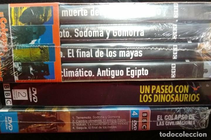 Cine: LOTE DE 8 DVDs DOCUMENTALES BBC imágenes únicas nunca antes filmadas Menús animados en 3D - Foto 2 - 198737326