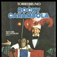 Cine: FOLLETO DE MANO, ROCKY CARAMBOLA, TORREBRUNO.. Lote 198737590