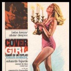 Cine: FOLLETO DE MANO, COVER GIRI (AMOR EN UN ESPEJO) BEBA LONCAR, OLIVIER DESPAX Y EDUARDO FAJARDO.. Lote 198749723