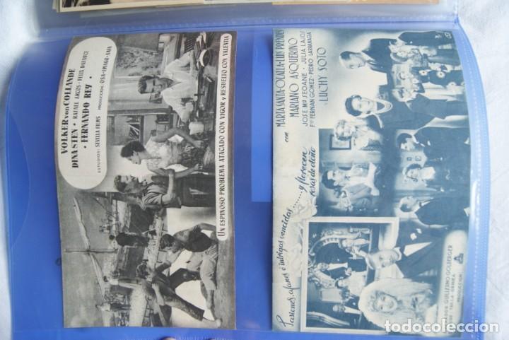 Cine: COLECCION DE PROGRAMAS TROQUELADOS , DOBLES , SENCILLO ,CON CINE, TODOS DIFERENTES S149 - Foto 4 - 198801412