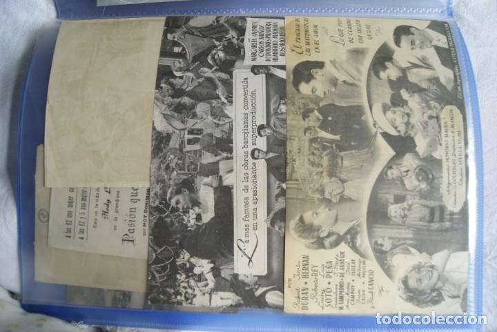 Cine: COLECCION DE PROGRAMAS TROQUELADOS , DOBLES , SENCILLO ,CON CINE, TODOS DIFERENTES S149 - Foto 8 - 198801412