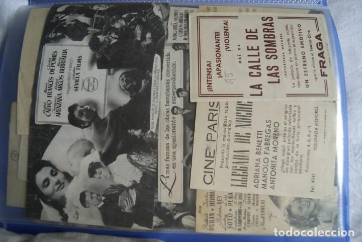Cine: COLECCION DE PROGRAMAS TROQUELADOS , DOBLES , SENCILLO ,CON CINE, TODOS DIFERENTES S149 - Foto 10 - 198801412