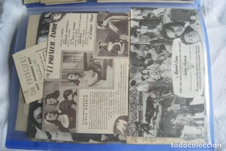 Cine: COLECCION DE PROGRAMAS TROQUELADOS , DOBLES , SENCILLO ,CON CINE, TODOS DIFERENTES S149 - Foto 12 - 198801412