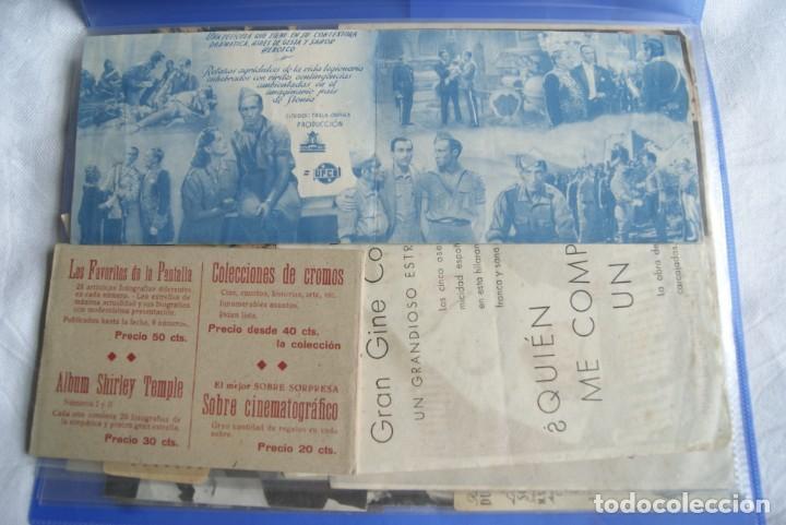 Cine: COLECCION DE PROGRAMAS TROQUELADOS , DOBLES , SENCILLO ,CON CINE, TODOS DIFERENTES S149 - Foto 18 - 198801412