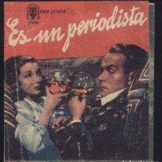 Cine: P-8651- ES UN PERIODISTA (THIS MAN IS NEWS) (DOBLE) BARRY K. BARNES - VALERIE HOBSON - ALASTAIR SIM. Lote 198816031