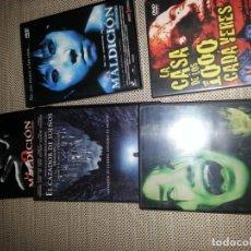 Cine: COLECCION DE CINE DVD DE TERROR. Lote 198816547