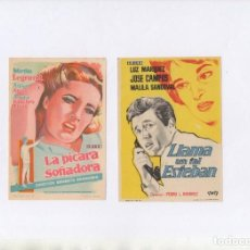 Cine: LA PÍCARA SOÑADORA-MIRTHA LEGRAND, LLAMA UN TAL ESTEBAN-LUZ MARQUEZ. Lote 198970813