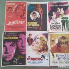 Cine: LOTE PROGRAMAS DE CINE . Lote 198993017