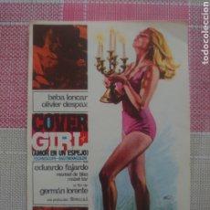 Foglietti di film di film antichi di cinema: EDUARDO FAJARDO PROGRAMA DE MANO DE LA PELÍCULA COVER GIRL. Lote 199108038