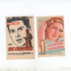 Cine: LOS COBARDES-VICENTE PARRA, LA PÍCARA SOÑADORA-MIRTHA LEGRAND. Lote 199189295