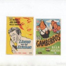 Cine: LOS GAMBERROS-GILA, LLAMA UN TAL ESTEBAN-LUZ MARQUEZ. Lote 199190432