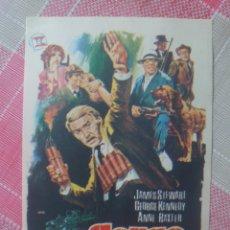 Cine: JAMES STEWART PROGRAMA DE MANO DE LA PELÍCULA CERCO DE FUEGO. Lote 199244990