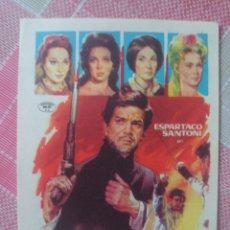 Foglietti di film di film antichi di cinema: ESPARTACO SANTONI PROGRAMA DE MANO DE LA PELÍCULA EL ESCANDALO. Lote 199245648