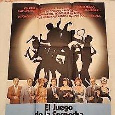 Cine: EL JUEGO DE LA SOSPECHA. CARTEL ORIGINAL. POR JONATHAN LYNN CON EILEEN BRENNAN, TIM CURRY. Lote 199309302