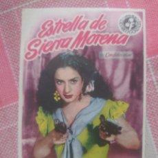 Cine: LOLA FLORES PROGRAMA DE MANO DE LA PELÍCULA LA ESTRELLA DE SIERRA MORENA.. Lote 199423068