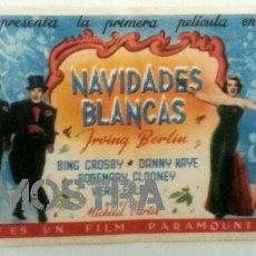 Cine: NAVIDADES BLANCAS. Lote 199507882