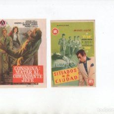 Cine: SITIADOS EN LA CIUDAD-GILA, CONSIGNA: MATAR AL COMANDANTE JEFE-CRAIG HILL. Lote 199692141