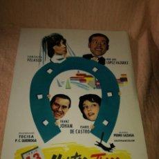 Cine: MERCURIO FILMS PRESENTA MARTES Y TRECE. Lote 199723498