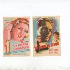Cine: LA PÍCARA SOÑADORA-MIRTHA LEGRAND, MI PADRE, EL ACTOR-O.W. FISCHER. Lote 199789418