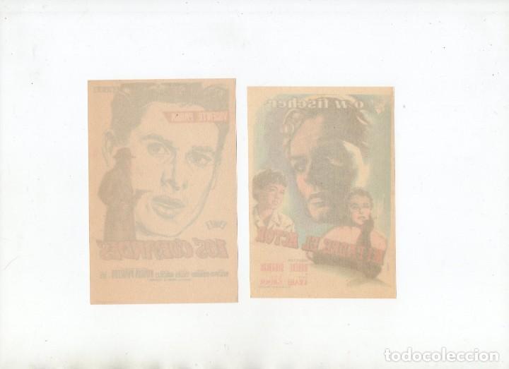 Cine: LOS COBARDES-VICENTE PARRA, MI PADRE, EL ACTOR-O.W. FISCHER - Foto 2 - 199793295