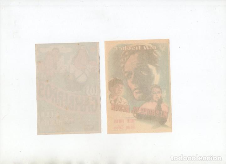 Cine: DOS PROGRAMAS DE MANO ORIGINALES DEL CINE EUROPEO - Foto 2 - 199794458
