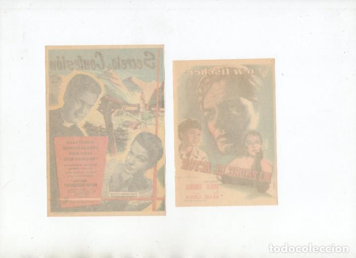 Cine: MI PADRE, EL ACTOR-O.W. FISCHER, SECRETO DE CONFESIÓN-MARGIT SAAD - Foto 2 - 199796091