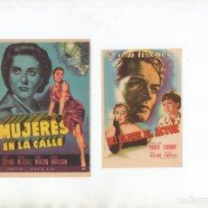 Cine: MUJERES EN LA CALLE-JOAN COLLINS, MI PADRE, EL ACTOR-O.W. FISCHER. Lote 199797246