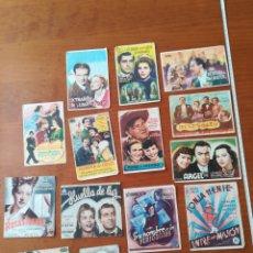 Cine: PROGRAMAS CINE PELÍCULAS TEATRO VILLEGAS NAJERA AÑOS 40. Lote 199804825