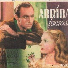 Folhetos de mão de filmes antigos de cinema: PROGRAMA DE CINE - ARRIBADA FORZOSA - ALFREDO MAYO, SILVIA MORGAN - MÁLAGA CINEMA (MÁLAGA) - 1945.. Lote 199904513