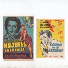 Cine: LLAMA UN TAL ESTEBAN-LUZ MARQUEZ, MUJERES EN LA CALLE-JOAN COLLINS. Lote 199907402