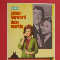 Cine: EL TERCER HOMBRE ERA MUJER - AÑO 1962 - FOLLETO - PROGRAMA CINE - DEAN MARTIN ... L664. Lote 199962487