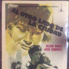 Cine: AL OTRO LADO DE LA CIUDAD - SENCILLO. Lote 200048336